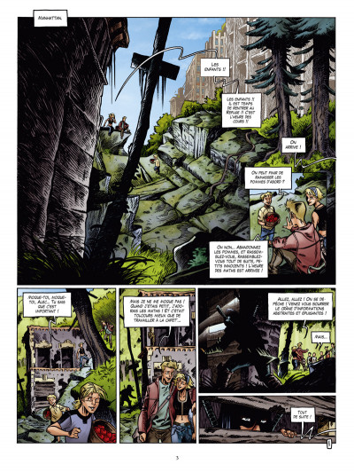 Page 1 H.O.P.E. tome 3 - hybrides