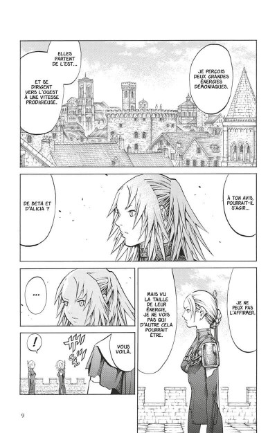 Page 8 Claymore tome 17
