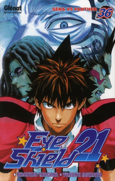 Couverture eye shield 21 tome 36