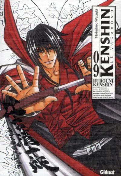 Couverture Kenshin le vagabond - perfect édition tome 9