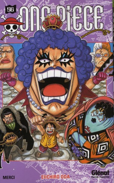 Couverture one piece tome 56 - merci