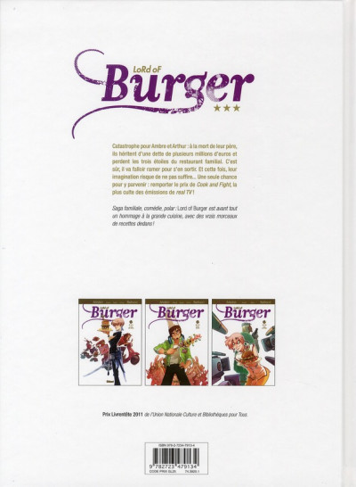 Dos lord of burger tome 3 - cook' n' fight