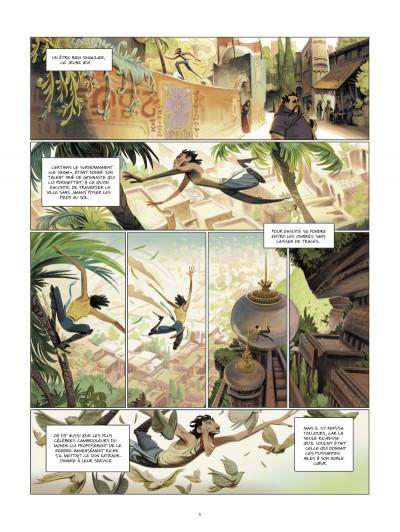Page 5 les contes de l'ère du cobra tome 1 - les amants