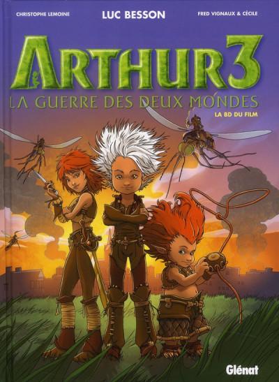 image de Arthur 3 ; la guerre des deux mondes