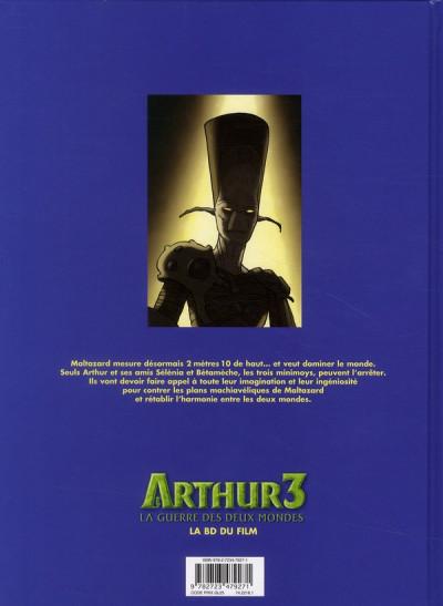 Dos Arthur 3 ; la guerre des deux mondes ; la BD du film