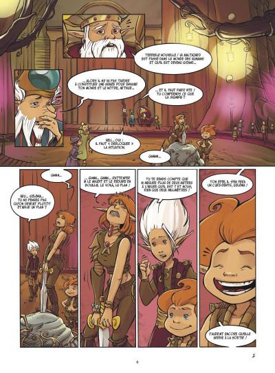 Page 2 Arthur 3 ; la guerre des deux mondes ; la BD du film