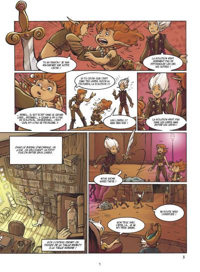 Page 3 Arthur 3 ; la guerre des deux mondes ; la BD du film