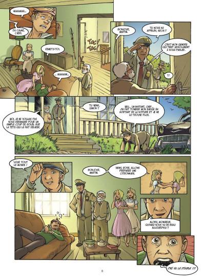 Page 4 Arthur 3 ; la guerre des deux mondes ; la BD du film
