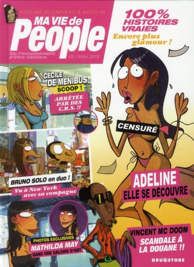 Couverture ma vie de people tome 2