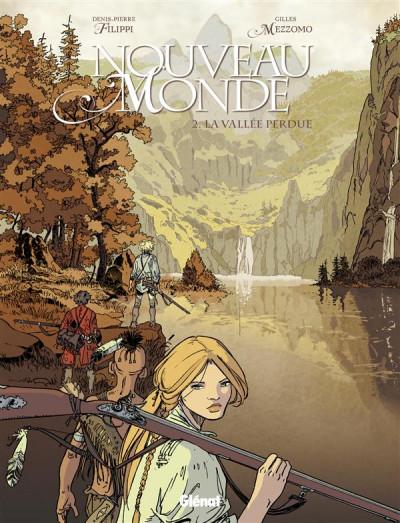 Couverture nouveau monde tome 2 - la vallée perdue