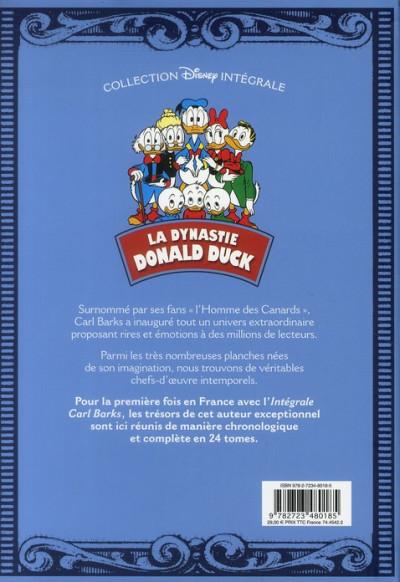 Dos la dynastie Donald Duck tome 1 - 1950-1951