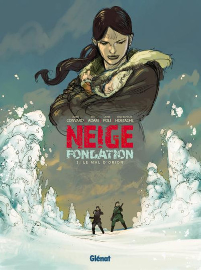 Couverture Neige fondation tome 3