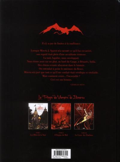 Dos le vampire de Bénarès tome 3 - le coeur des ténèbres