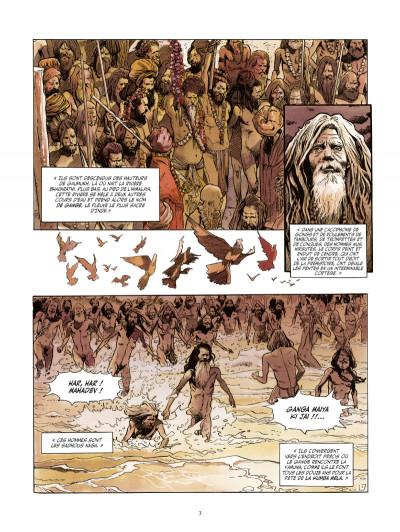 Page 1 le vampire de Bénarès tome 3 - le coeur des ténèbres