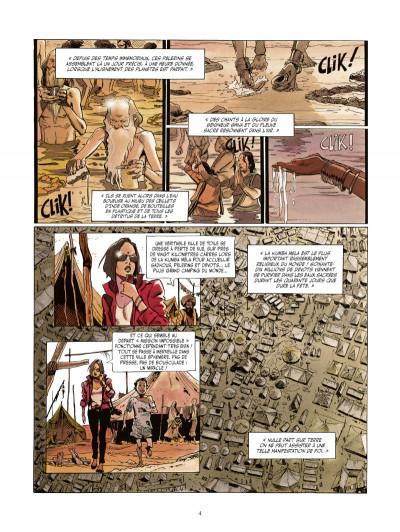 Page 2 le vampire de Bénarès tome 3 - le coeur des ténèbres