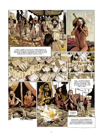 Page 3 le vampire de Bénarès tome 3 - le coeur des ténèbres