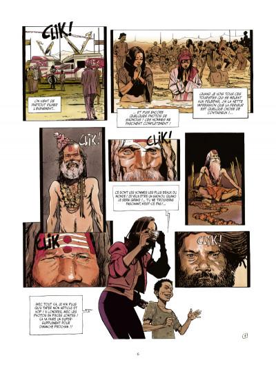 Page 4 le vampire de Bénarès tome 3 - le coeur des ténèbres