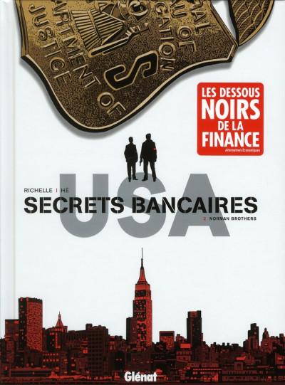 Couverture Secrets bancaires USA tome 2