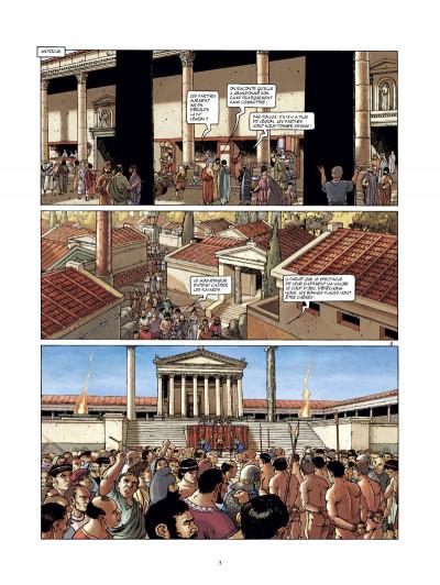 Page 1 les boucliers de Mars tome 2 - sacrilèges