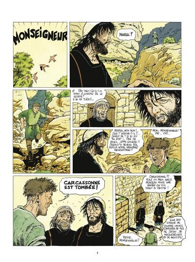 Page 4 mémoire de cendres - intégrale tome 1 à tome 5