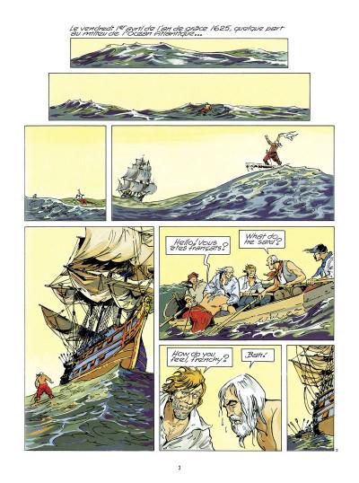 Page 1 coeur brûlé - intégrale tome 1 à tome 4