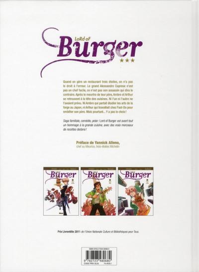 Dos lord of burger tome 1 - le clos des épices - nouvelle édition 1/2