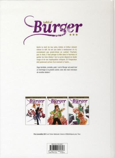 Dos lord of burger tome 2 - étoiles filantes - nouvelle édition 2/2