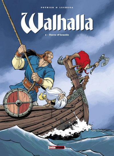 Couverture Walhalla tome 1