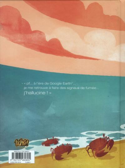 Dos Paola Crusoé tome 1 - naufragée