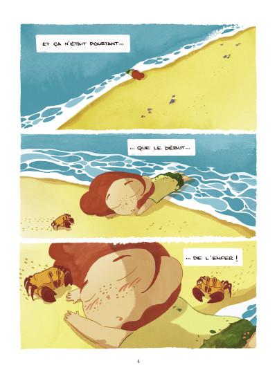 Page 2 Paola Crusoé tome 1 - naufragée
