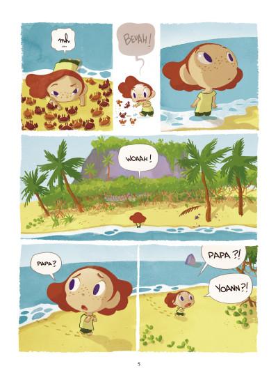 Page 3 Paola Crusoé tome 1 - naufragé