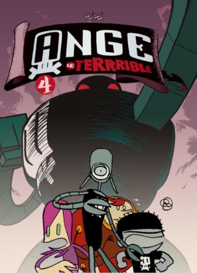 Couverture ange le terrible tome 4