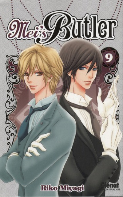 Couverture Mei's butler tome 9