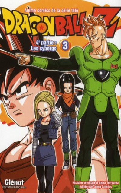 Couverture dragon ball Z - cycle 4 tome 3