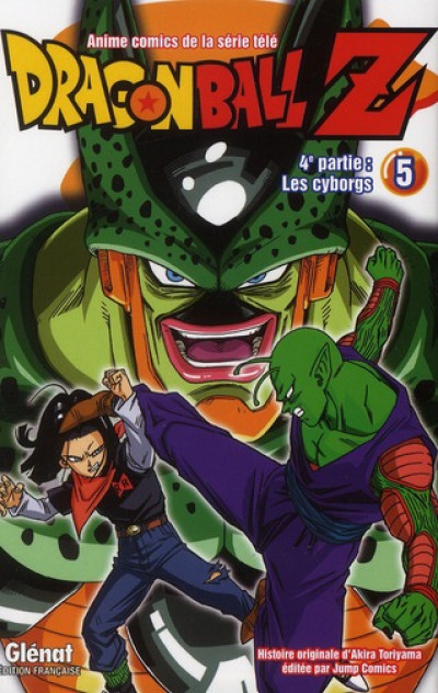 Couverture dragon ball Z - cycle 4 tome 5