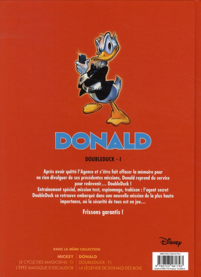 Dos Donald - Doubleduck tome 1