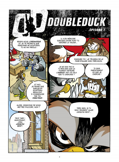 Page 1 Donald - Doubleduck tome 1
