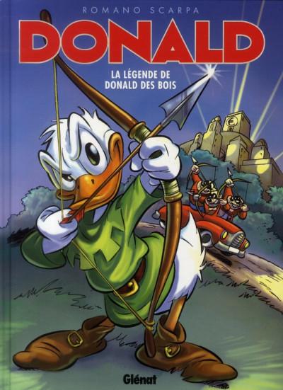 image de Donald ; la légende de Donald des bois