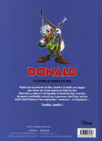 Dos Donald ; la légende de Donald des bois