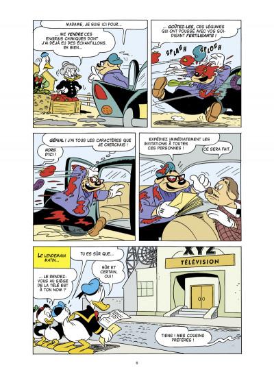 Page 4 Donald ; la légende de Donald des bois