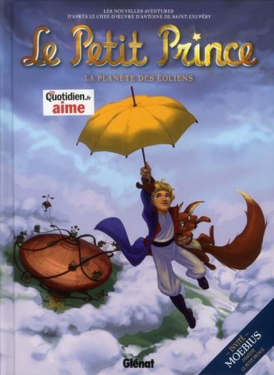 Couverture le petit prince tome 1 - la planète des Eoliens