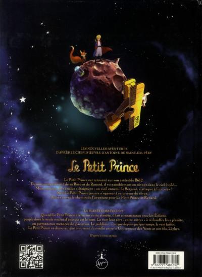 Dos le petit prince tome 1 - la planète des Eoliens
