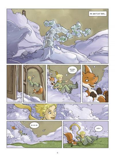 Page 4 le petit prince tome 1 - la planète des Eoliens