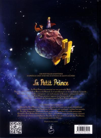 Dos le petit prince tome 3 - la planète de la musique