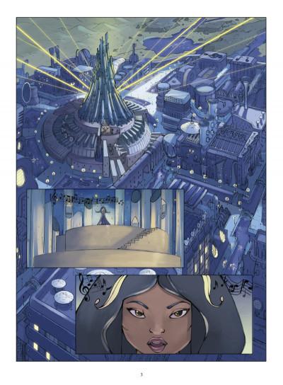 Page 1 le petit prince tome 3 - la planète de la musique