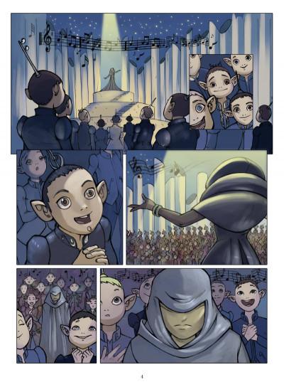Page 2 le petit prince tome 3 - la planète de la musique