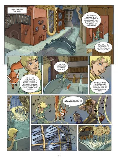 Page 4 le petit prince tome 3 - la planète de la musique