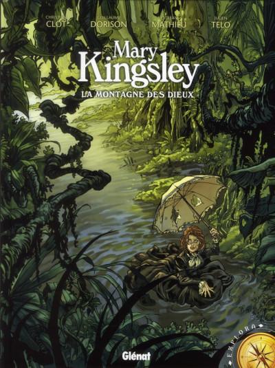 Couverture Mary kingsley ; la montagne des Dieux