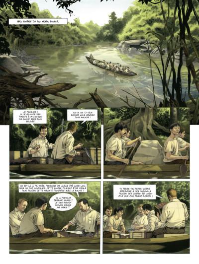Page 1 Fawcett tome 1 - les cités perdues d'Amazonie
