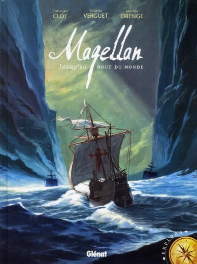 Couverture Magellan - jusqu'au bout du monde